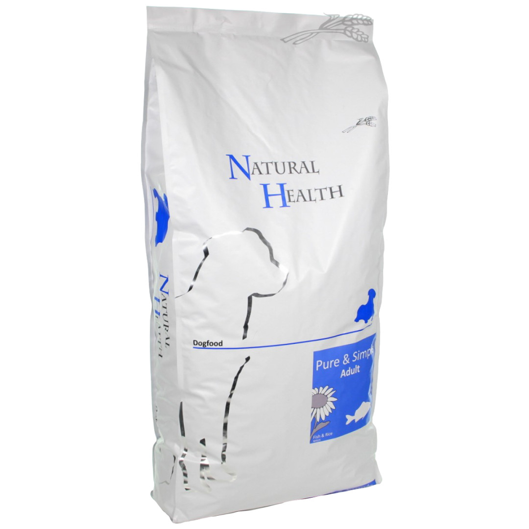 Natural Health Pure & Simple Adult fish <br>12,5 kg